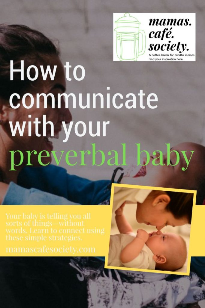 learn to connect to your baby without words