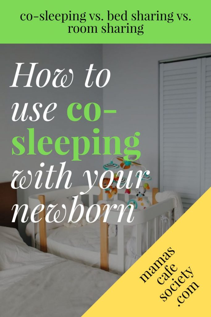 how to use co-sleeping with your newborn