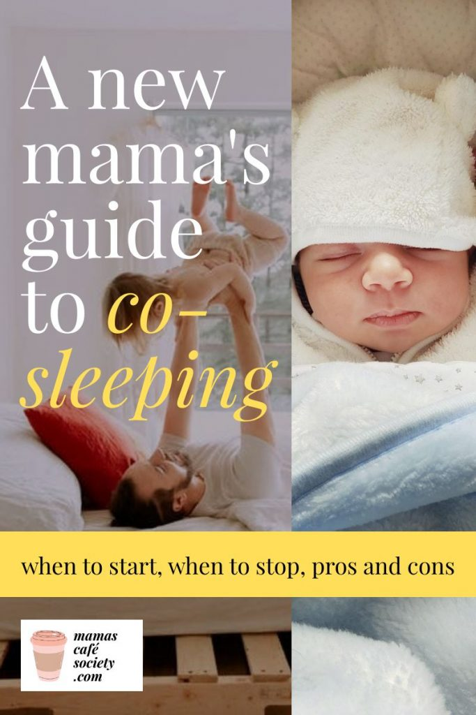 a new mama's guide to co-sleeping