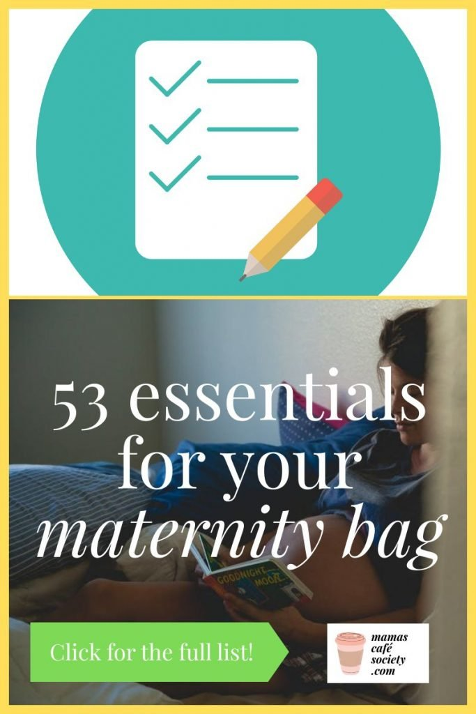 53 essentials for your maternity bag