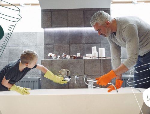 benefits of doing housework with children