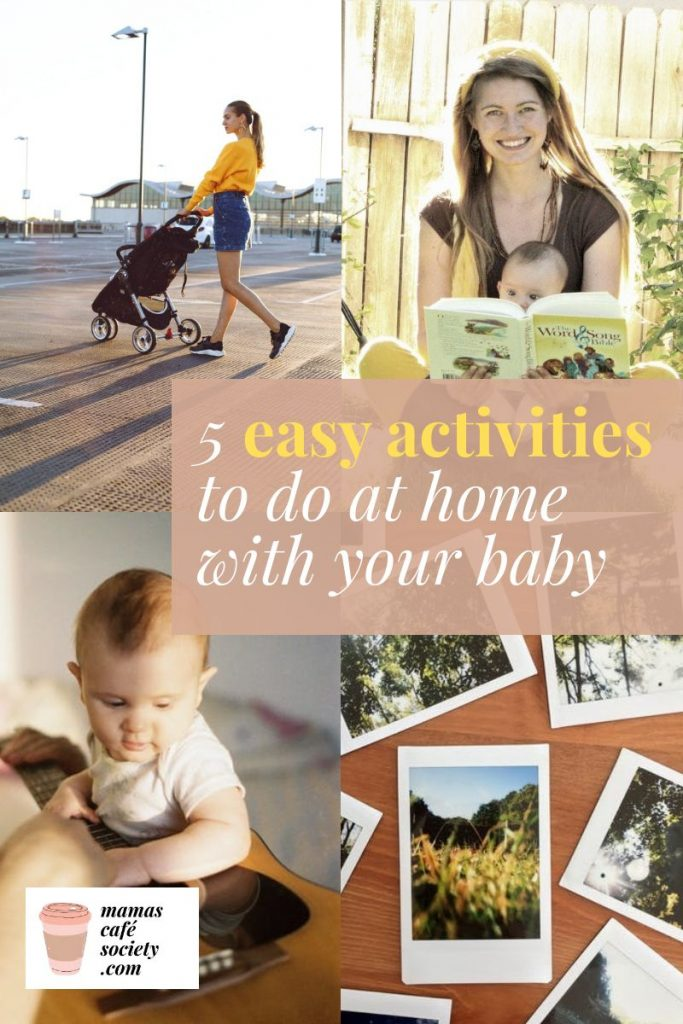 5 easy activities to do at home with your baby