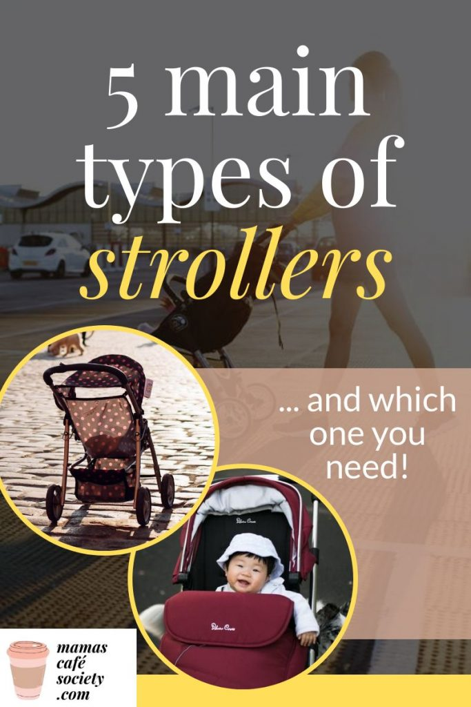 5 main types of strollers