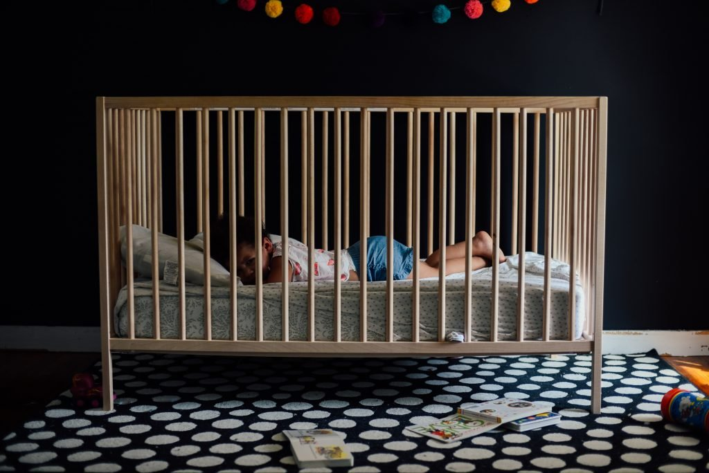 baby bed or crib