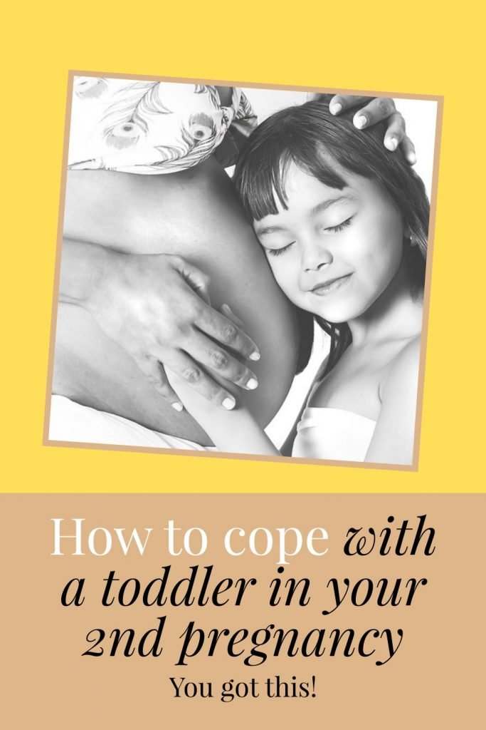 how to cope with toddler in 2nd pregnancy