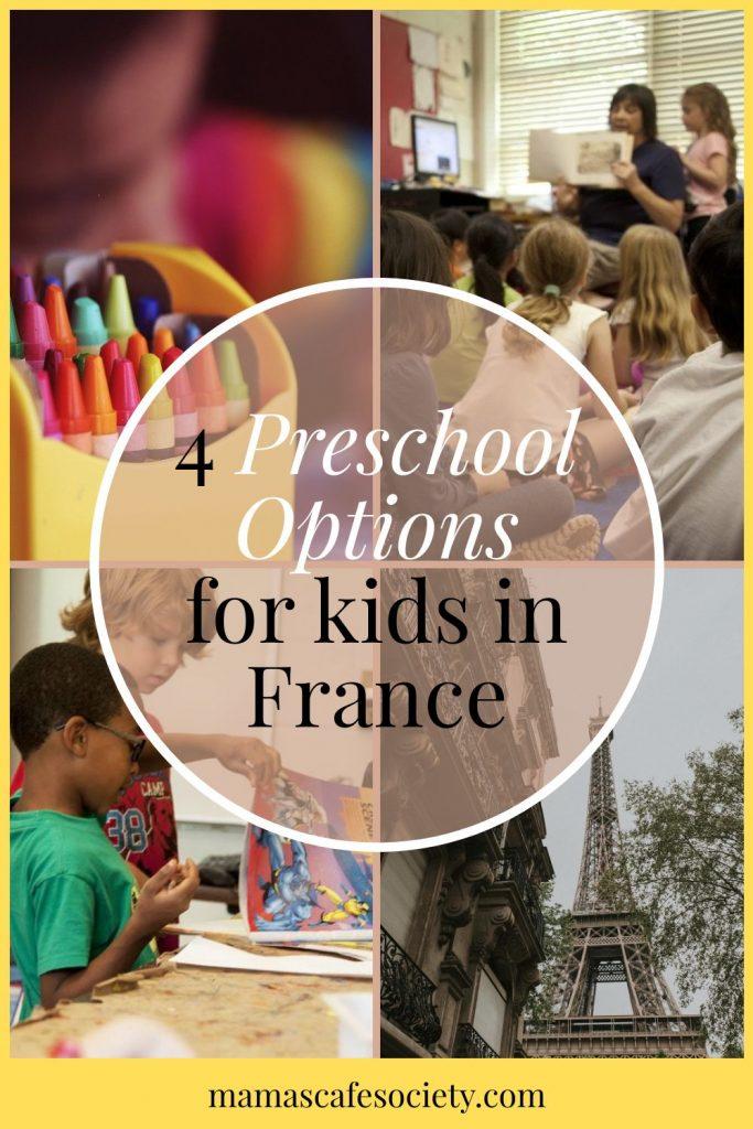 pin 4 preschool options