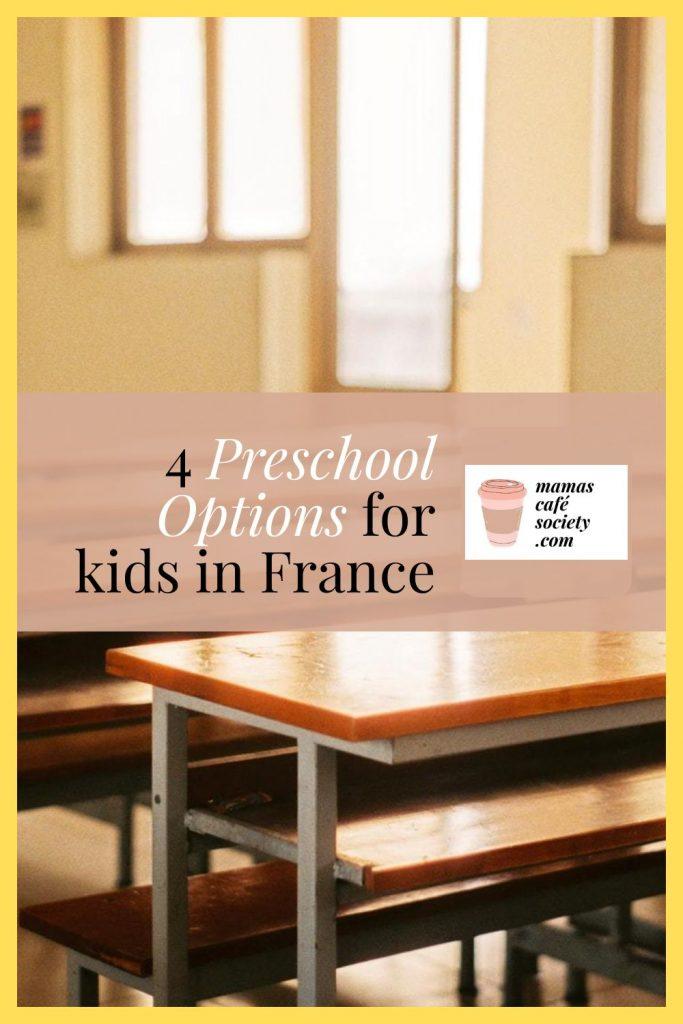 pin preschool options in france